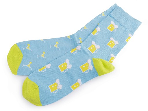 Bavlněné ponožky barevné Wola