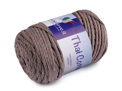 Bavlněná pletací příze Thai Cotton 250 g