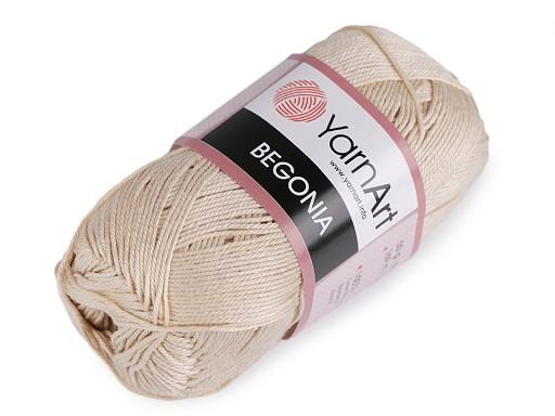 Bavlněná pletací příze Begonia 50 g