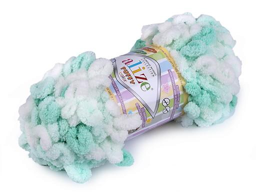 Pletací příze Alize Puffy color 100 g