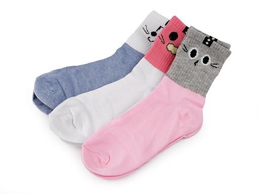 Detské športové ponožky s očami