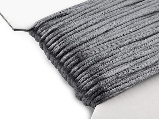 Saténová šňůra Ø2 mm