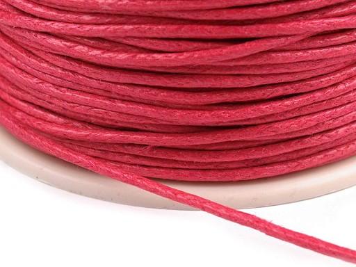 Baumwollschnur gewachst Ø1 mm