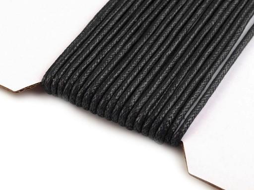 Šnúra bavlnená Ø2 mm voskovaná