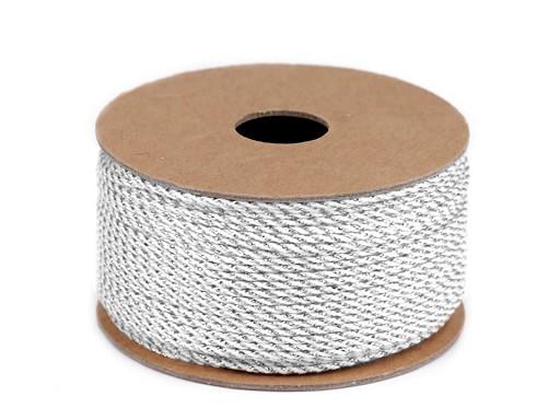 Lurexová šňůrka / provázek Ø1,5 mm