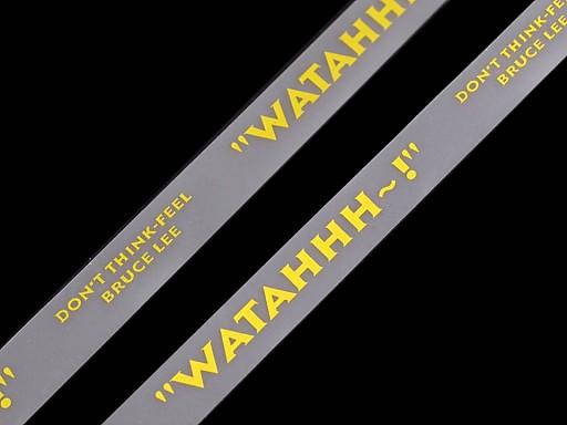 Silikónová šnúrka do kapucní šírka 15 mm