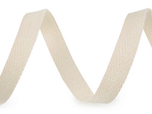 Keprovka bavlněná šíře 12 mm