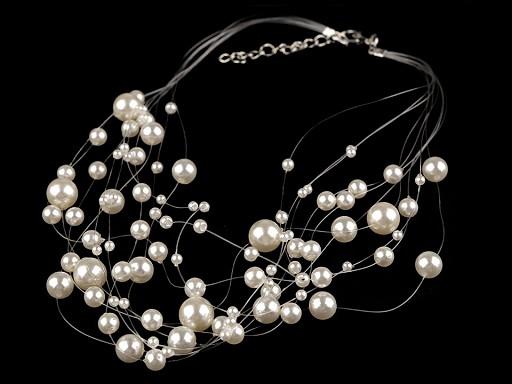 Perlový náhrdelník / perlová motanice