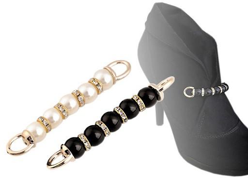 Ozdoba perly k našití na boty / kabelky