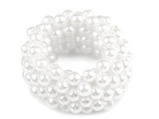 Perlová gumička / ozdoba do vlasů