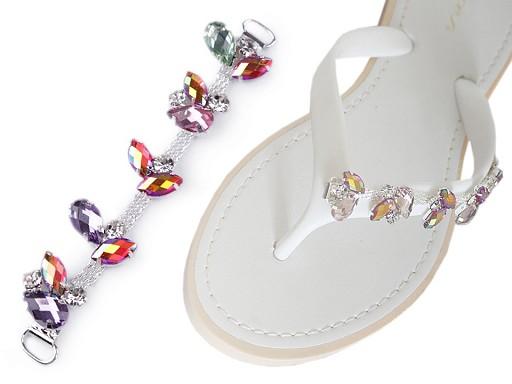 Kamínková ozdoba na obuv