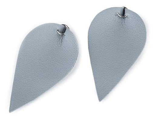Accesorii bijuterii - Frunze piele ecologică