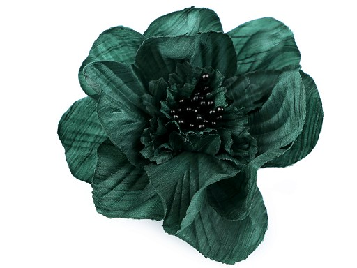 Brož / ozdoba růže Ø10 cm
