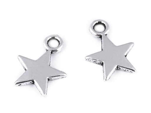 Přívěsek hvězda Ø10 mm