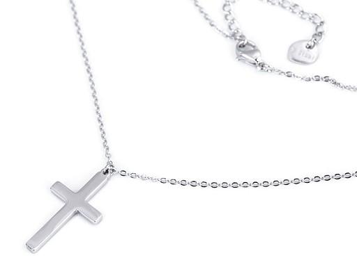 Náhrdelník z nerezové oceli křížek