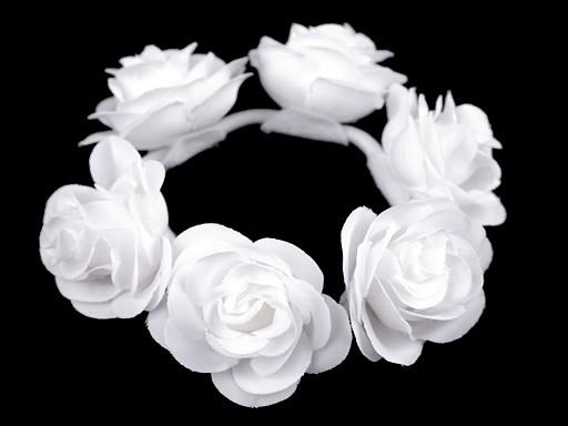 Gumička do vlasů s růžemi