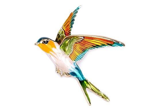 Brošňa vtáčik