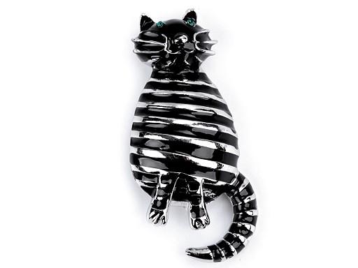 Broszka kotek