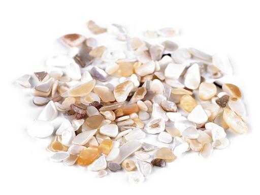 Dekorační perleťové zlomky - mix