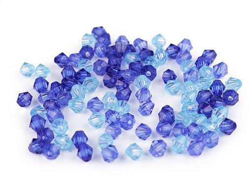 Műanyag ón gyöngyök / napocska 6x6 cm