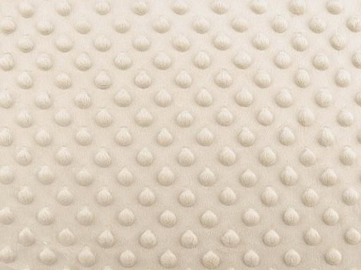 Minky Plush 3D Dot Fabric