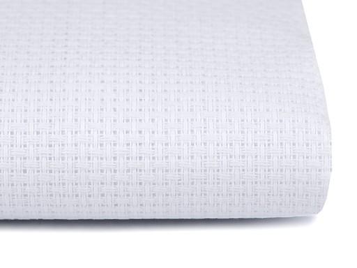 Vyšívacia tkanina Kanava šírka 140 cm 46 očiek