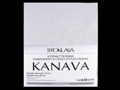 Tkanina do wyszywania Kanava 20x30 cm 46 oczek