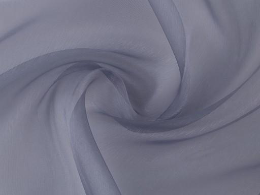Organza oděvní skleněná