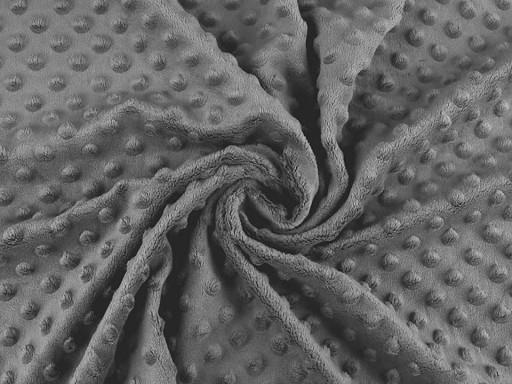 Tkanina Minky kropki 3D SAN