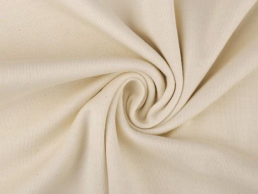 Úplet bavlnený rebrovaný režný