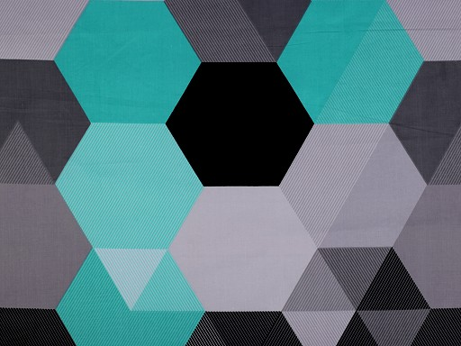 Bavlnená látka abstrakt