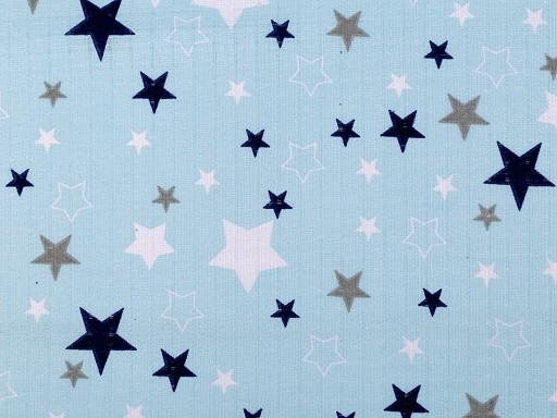 Bavlnená plienkovina / mušelín hviezdy