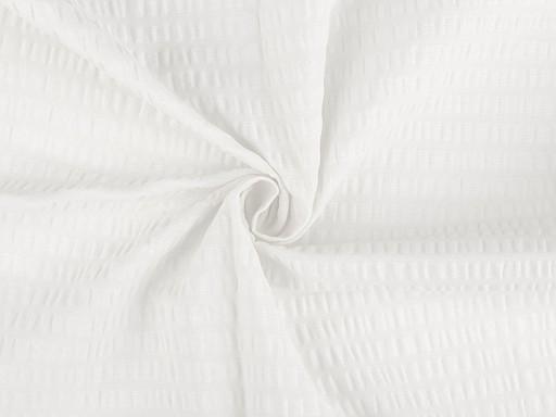 Bavlněný krep jednobarevný