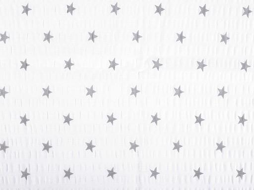 Bavlněný krep hvězdy