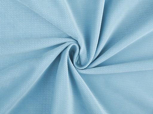 Velvet strukturovaný jednobarevný