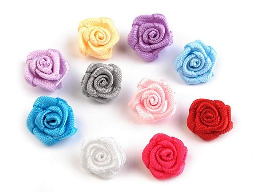 Textil virág Ø10 mm