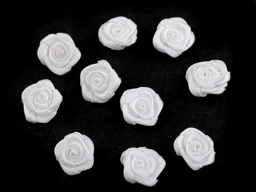 Szatén rózsa Ø10 mm
