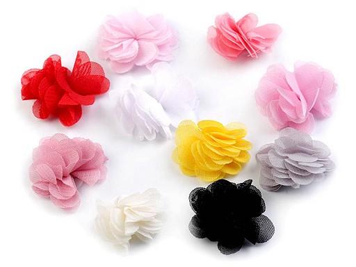 Blume Ø30mm zum Annähen oder zum Ankleben
