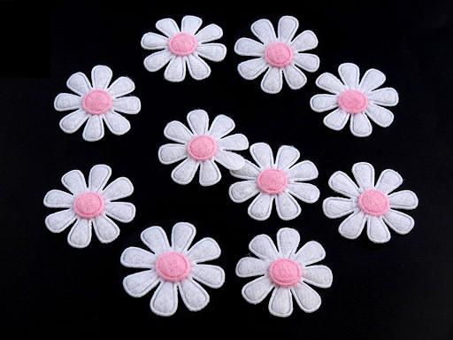 Květ z filcu Ø27 mm