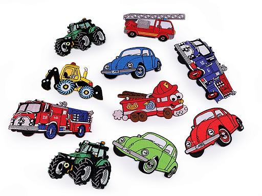 Nažehlovačka auto, traktor, loď