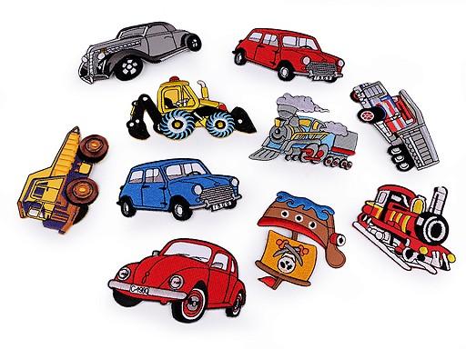 Felvasalható folt autó, traktor, hajó