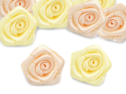 Saténová růžička Ø20 mm