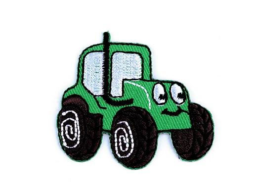 Nažehlovačka nákladní auto, traktor, bagr, vláček, míchačka