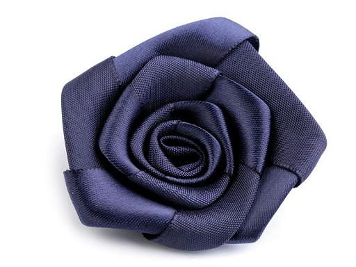 Saténová růže Ø50 mm