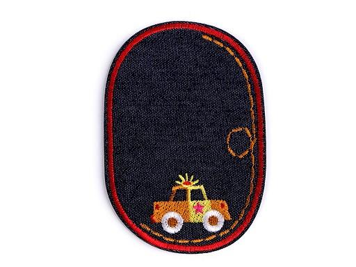 Nažehlovačka / záplata riflová auto