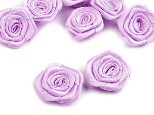Saténová růže Ø30-40 mm