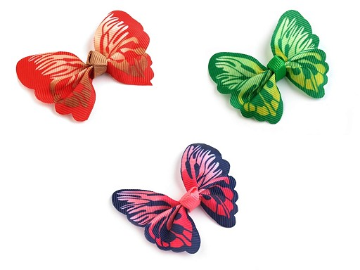 Textilní aplikace / nášivka 3D motýl