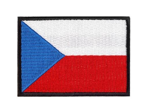 Naprasowanka flaga Republiki Czeskiej