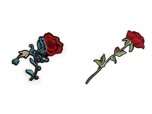 Nažehlovačka na rifle květy / růže