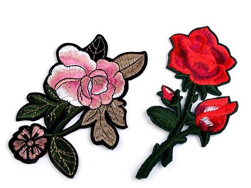 Nažehlovačka na rifle růže